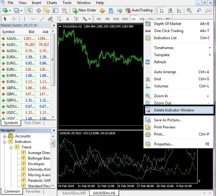 Tải phần mềm MT4 và hướng dẫn cách sử dụng phần mềm MT4 13