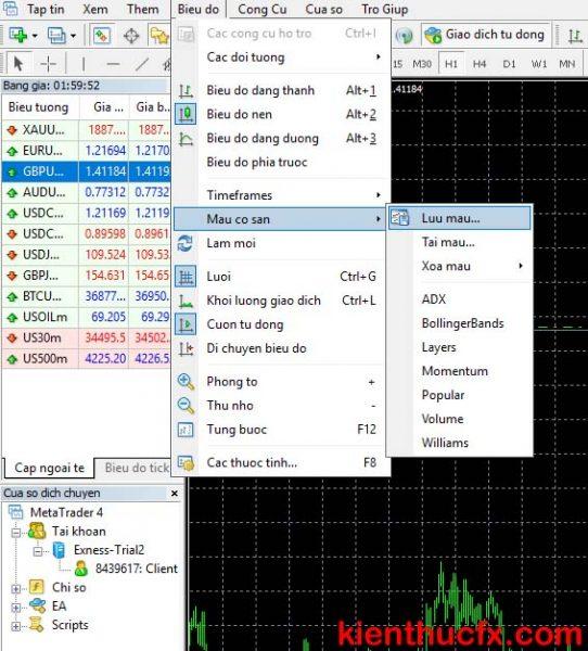 Hướng dẫn sử dụng mt4 trên máy tính